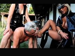 Exotic amateur BDSM, Femdom sex video