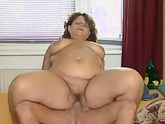 Older BBW Wants That Young Cock