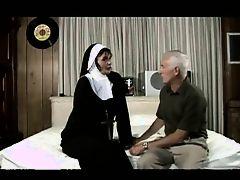 old man fucks a nun