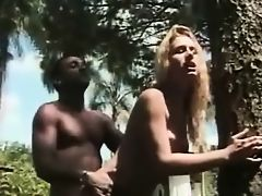 Blonde Shemale fucked
