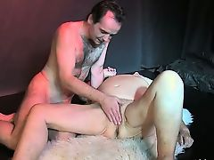 Nasty mature is fingered by young guy part5