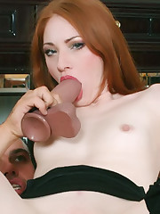 Ass Creamed Redhead
