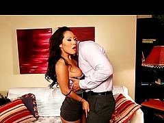 Asa Akira fucked hard to multiple orgasms
