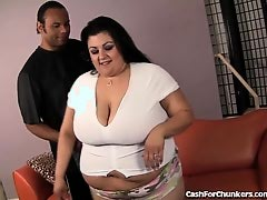Fat Slut Drilled Til She Creams