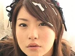 JapaneseBukkakeOrgy: Gothic Asian with Semen
