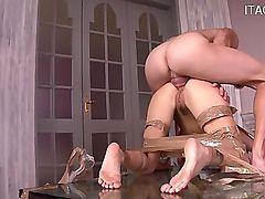 Sexy wife cum swallow