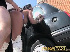 FakeTaxi Customer wants second helpings of taxi cock