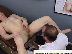 Mormon doctor uses butt plug on young guy