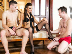 Lara, Georgio Black in Bi-Sexual Cuckold #07, Scene #01