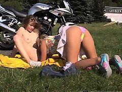 Beautiful teen hd pov Young lezzy biker girls