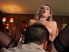Daria fucked in thigh high stockings and heels