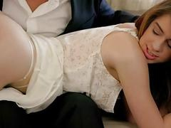 TUSHY First Anal For Stepdaughter Joseline Kelly