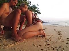 rough beach sex true fuck & sand UnEdit UnCut horny naughty amateur couple