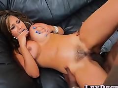 Blonde and college Reena Sky gets hammered by Lexington